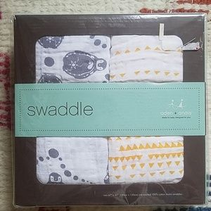 Aden + Anais 2 Pack Cotton Muslin Swaddle Blankets